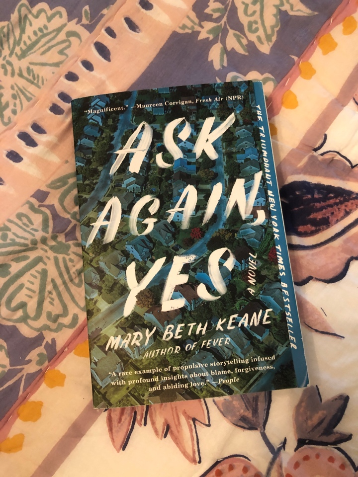 Your Next Read: Ask Again, Yes by Mary Beth Keane